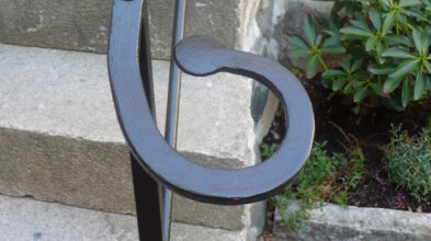 Railing in 18th century style